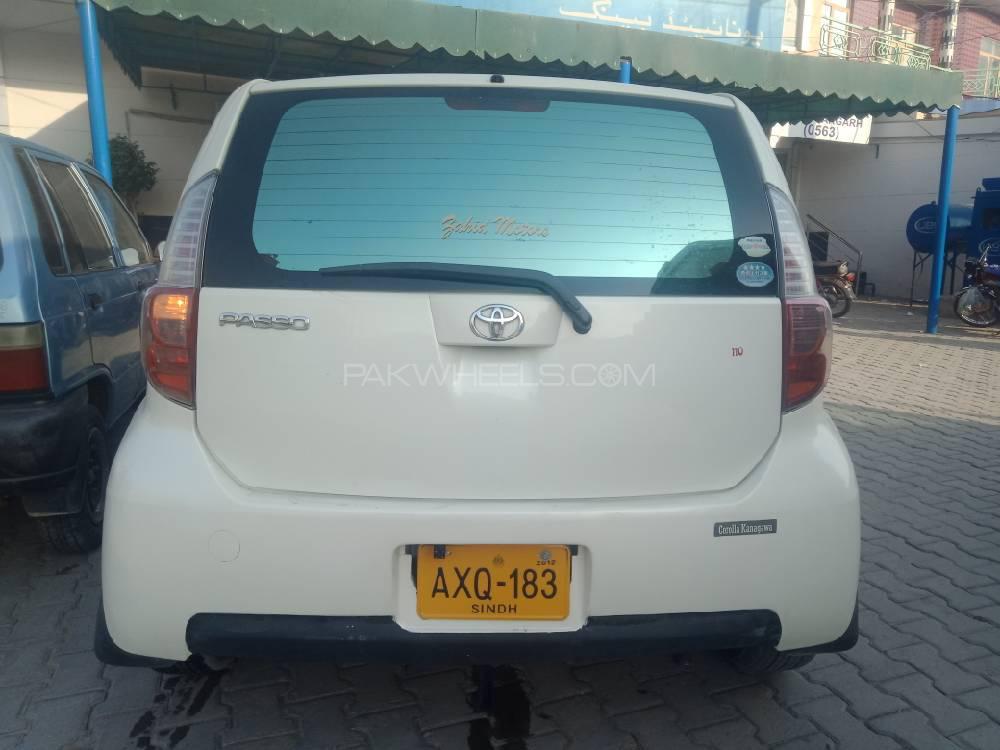 Toyota Passo G 1.0 2007 Image-1