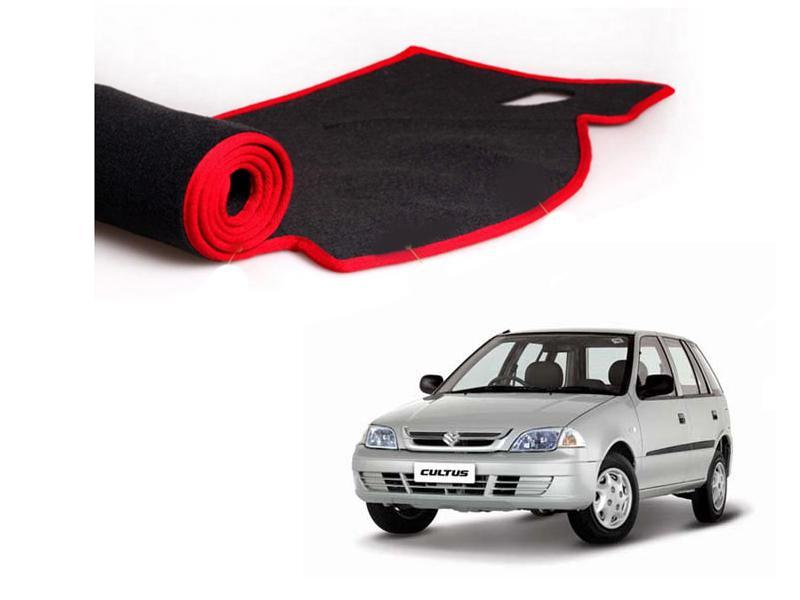 Suzuki Cultus 2007-2017 Dashboard Carpet Mat Image-1