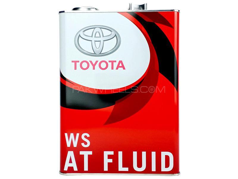 Toyota Genuine ATF WS - 4 Litre Image-1