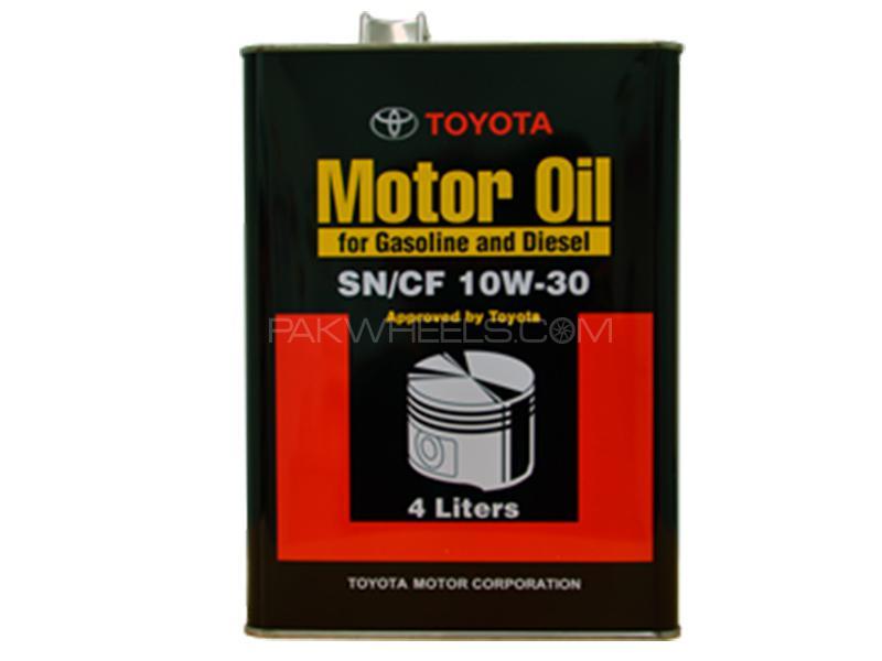 Toyota Genuine Engine Oil 10W-30 - 4 Litre Image-1