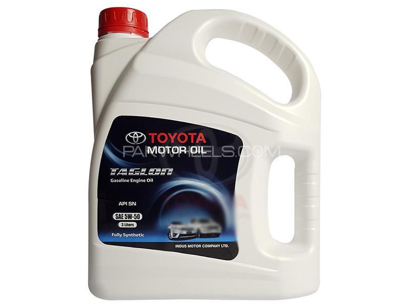 Toyota Taglon Engine Oil 5W-50 - 3 Litre Image-1
