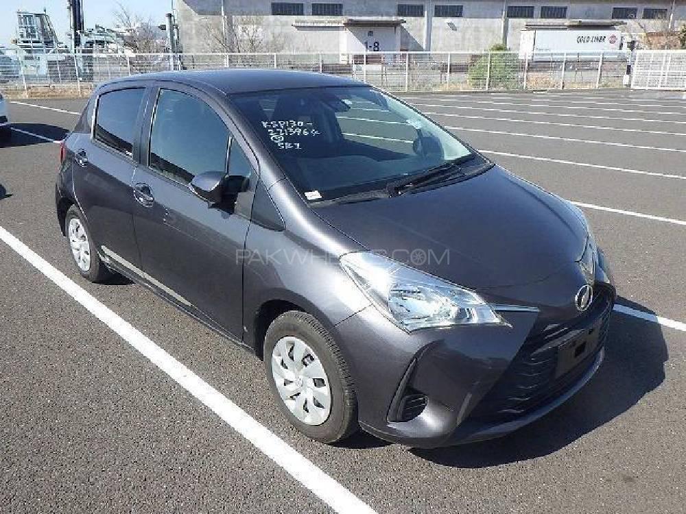 Toyota Vitz F Limited II 1.0 2017 Image-1