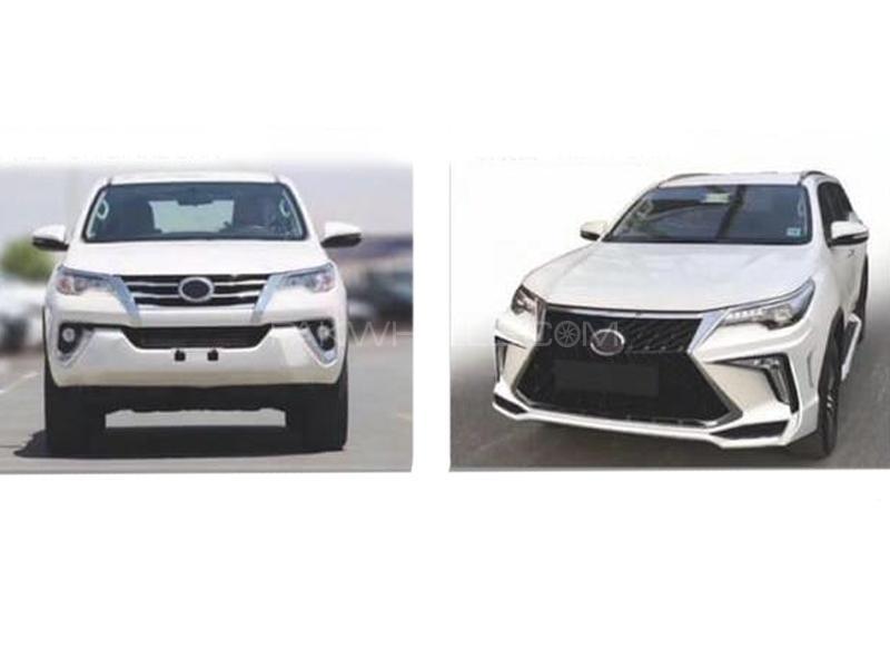 Toyota Fortuner 2017-2020 Lexus Facelift Kit  in Lahore