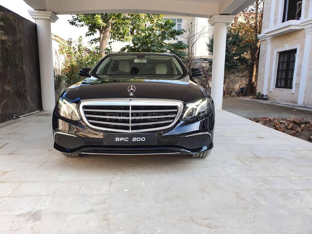 Mercedes Benz E Class E200 2018 Image-1