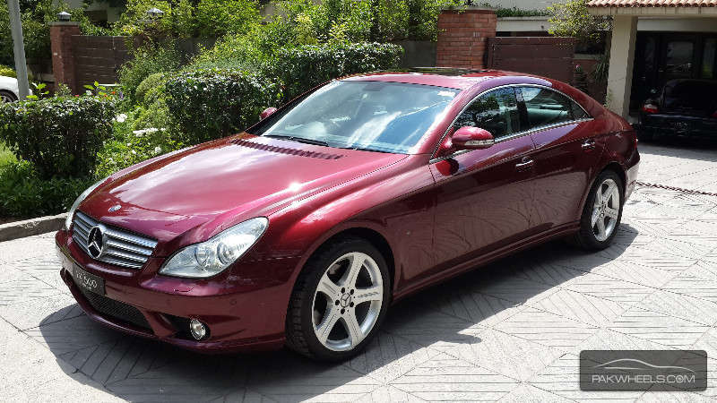 Mercedes benz cls class cls500 2005 for sale in islamabad for Mercedes benz cls sale