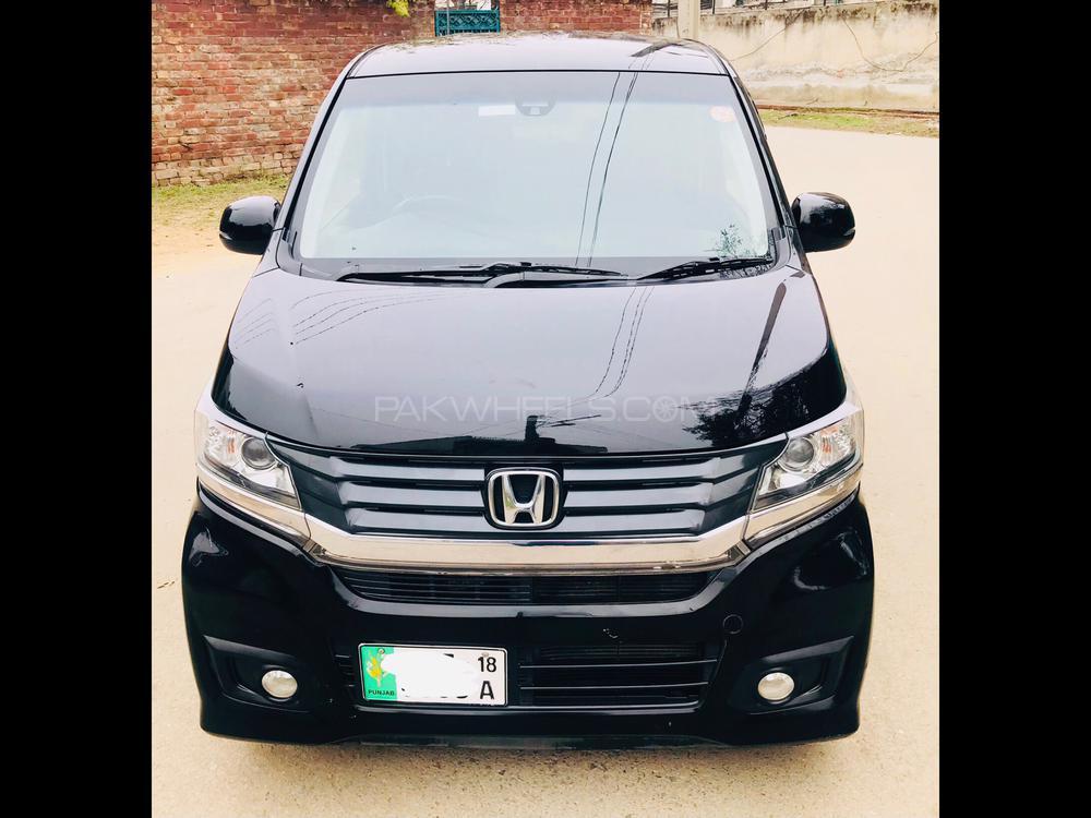 Honda N Wgn Custom G 2015 Image-1