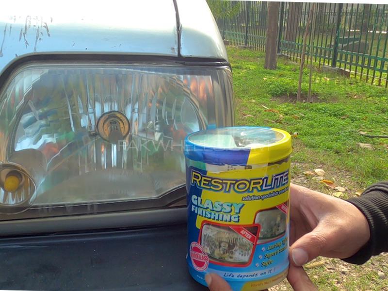 RestorLite Glassy Finish Headlight Restorer Kit  Image-1