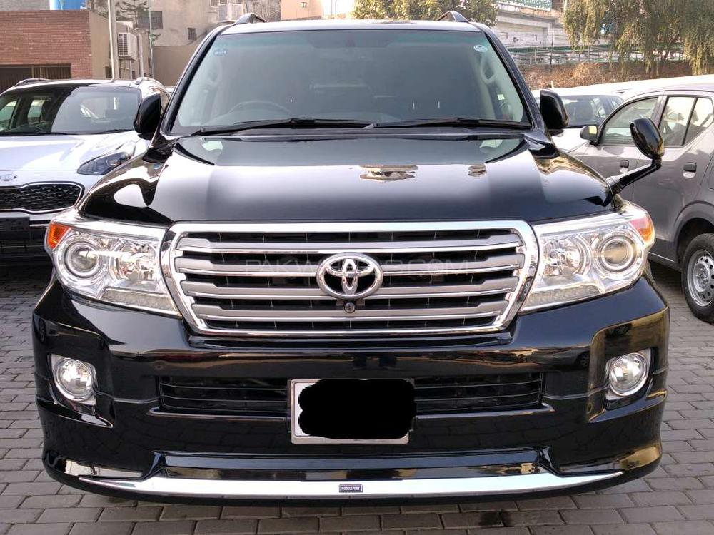 Toyota Land Cruiser ZX 60th Black Leather Selection 2011 Image-1