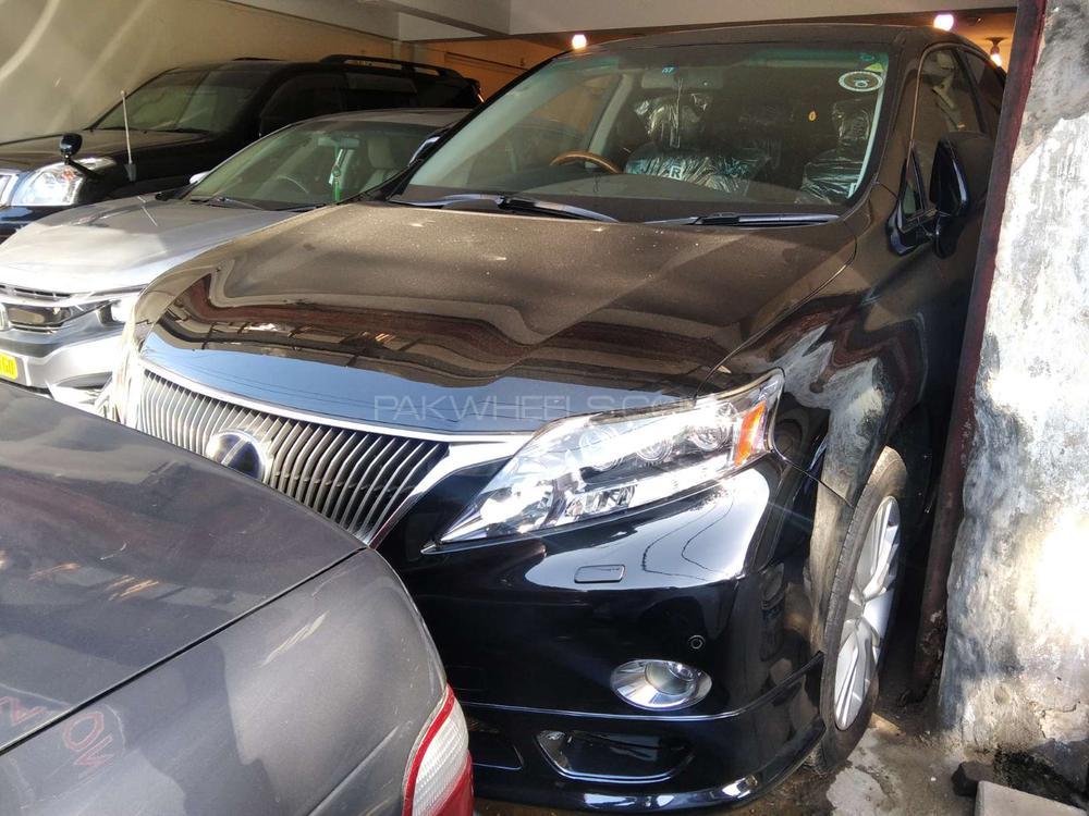 Lexus RX Series 450H 2009 Image-1