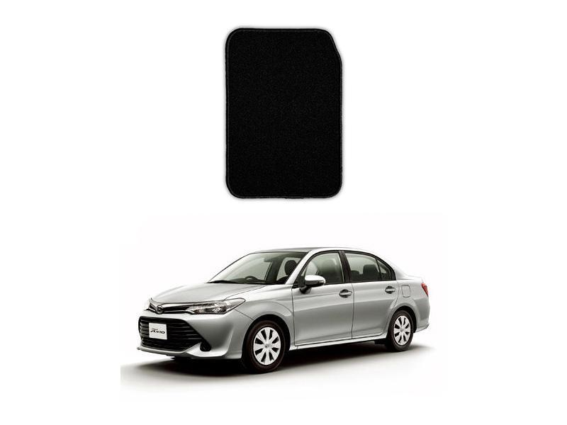 Toyota Axio Marflex Floor Mats Premium Black in Lahore