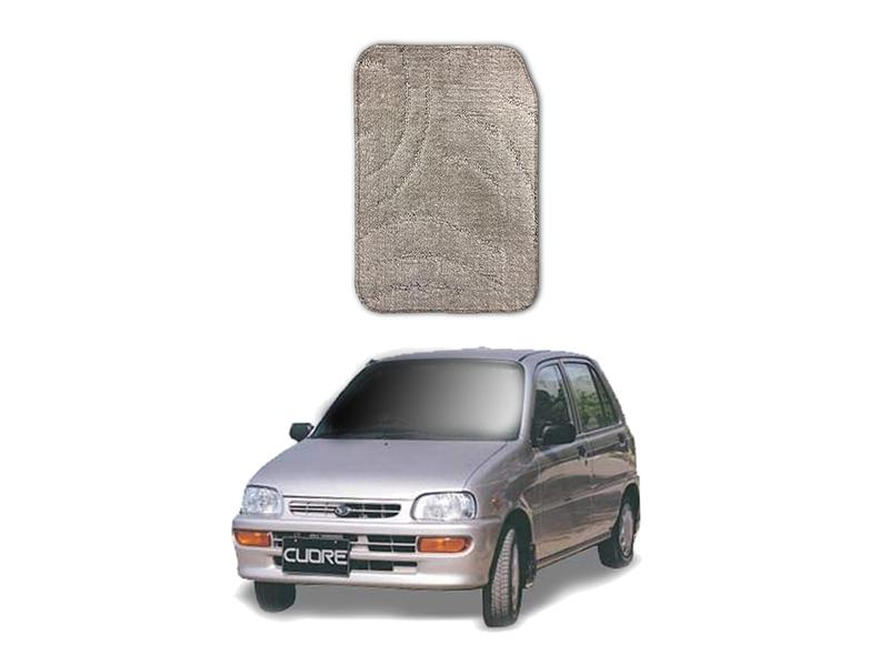 Daihatsu Cuore Marflex Floor Mats Premium Beige in Lahore