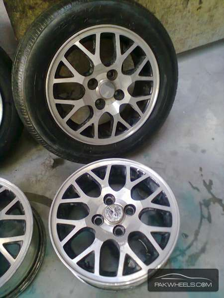 14 Inch Honda Civic Alloy Rims For Sale In Karachi