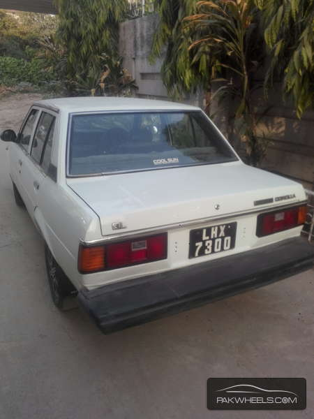 used toyota corolla gl saloon 1981 car for sale in lahore 896120 pakwheels. Black Bedroom Furniture Sets. Home Design Ideas