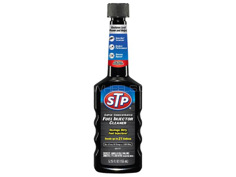 STP Super Concentrated Fuel Injector Cleaner Black Fuel Additives - 155ml in Karachi