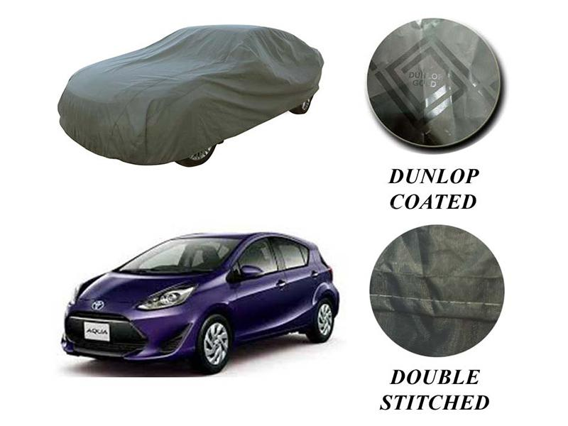 Toyota Aqua 2012-2021 PVC Coated Double Stitched Top Cover in Karachi