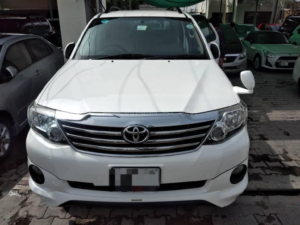 Toyota Fortuner TRD Sportivo 2015 Image-1
