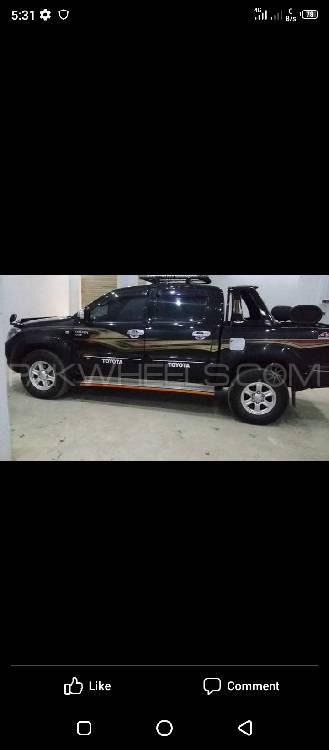 Toyota Hilux 4x4 Double Cab Standard 2007 Image-1