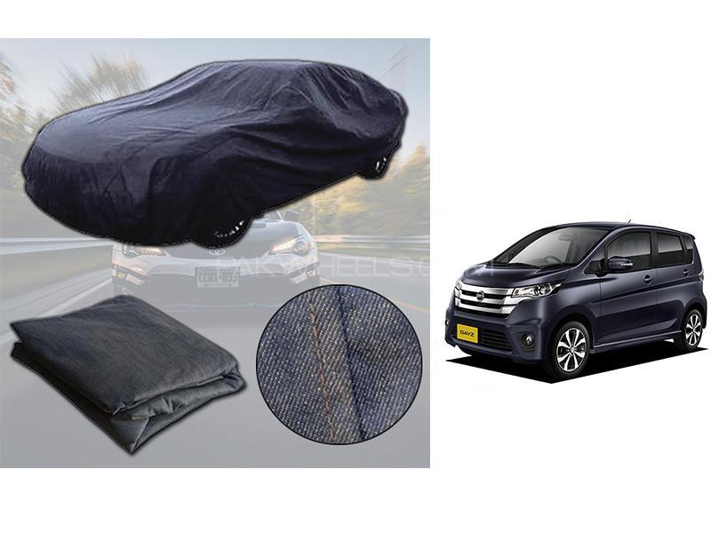 Nissan Dayz 2013-2021 Denim Double Stitched Top Cover  in Karachi