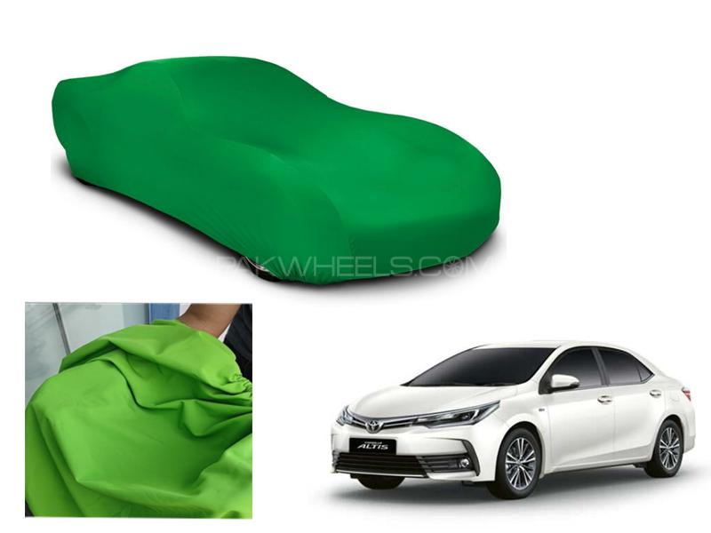 Toyota Corolla 2016-2021 Microfiber Coated Anti Scratch And Anti Swirls Water Resistant Top Cover Image-1