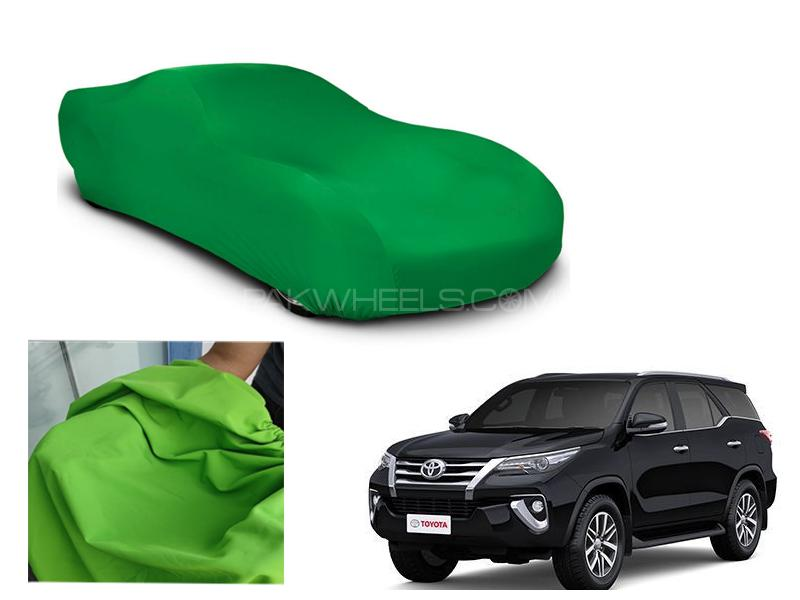 Toyota Fortuner 2016-2021 Microfiber Coated Anti Scratch And Anti Swirls Water Resistant Top Cover Image-1