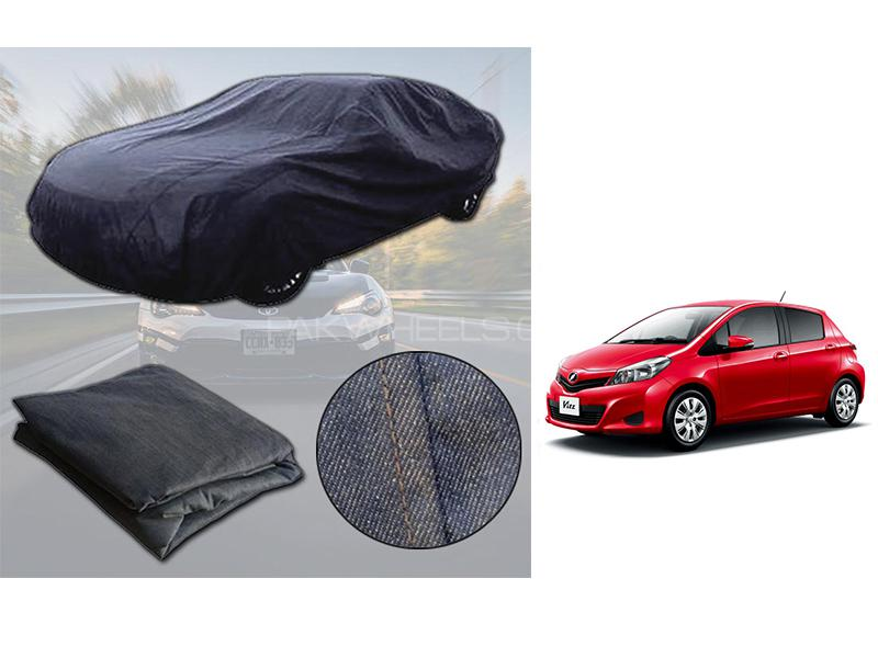 Toyota Vitz 2011-2015 Denim Double Stitched Top Cover  in Karachi