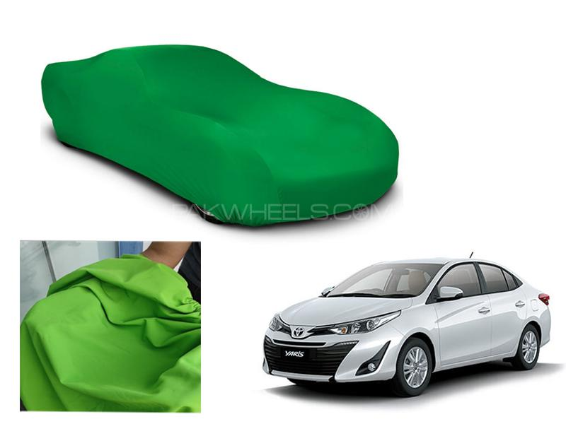 Toyota Yaris 2019-2021 Microfiber Coated Anti Scratch And Anti Swirls Water Resistant Top Cover Image-1