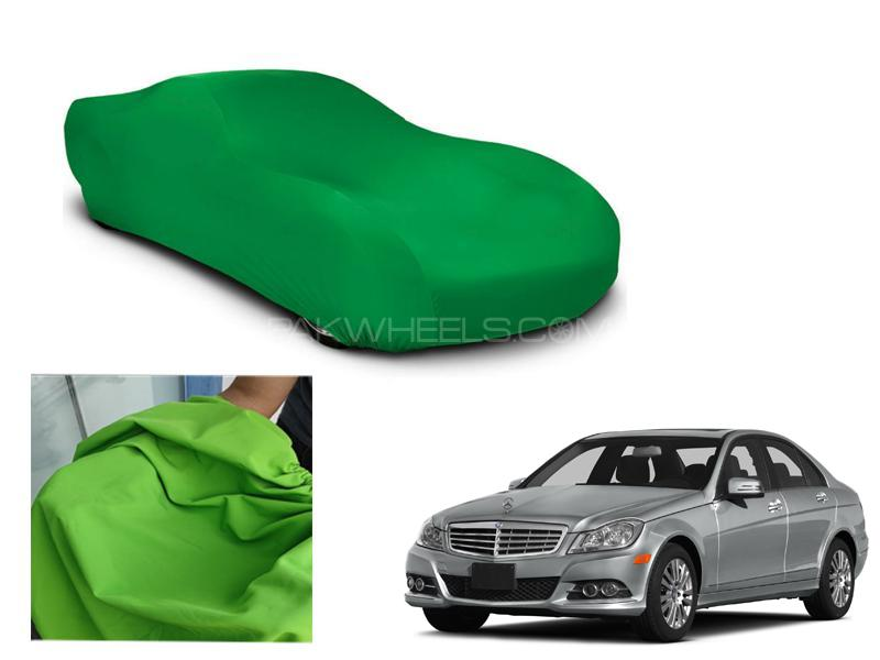 Mercedes E Class Microfiber Coated Anti Scratch And Anti Swirls Water Resistant Top Cover in Lahore