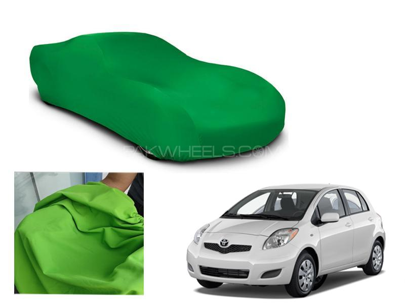 Toyota Vitz 2005-2010 Microfiber Coated Anti Scratch And Anti Swirls Water Resistant Top Cover in Lahore