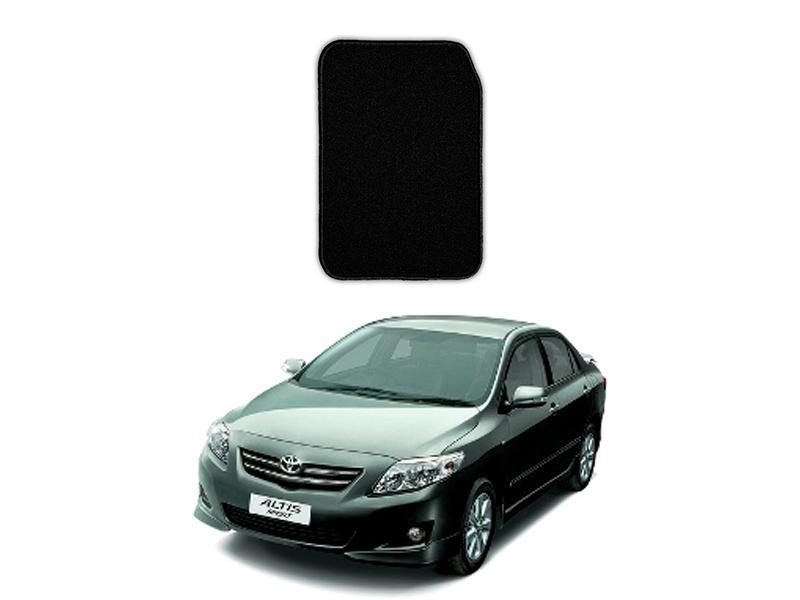 Toyota Corolla 2009-2012 Marflex Floor Mats Premium Black in Lahore