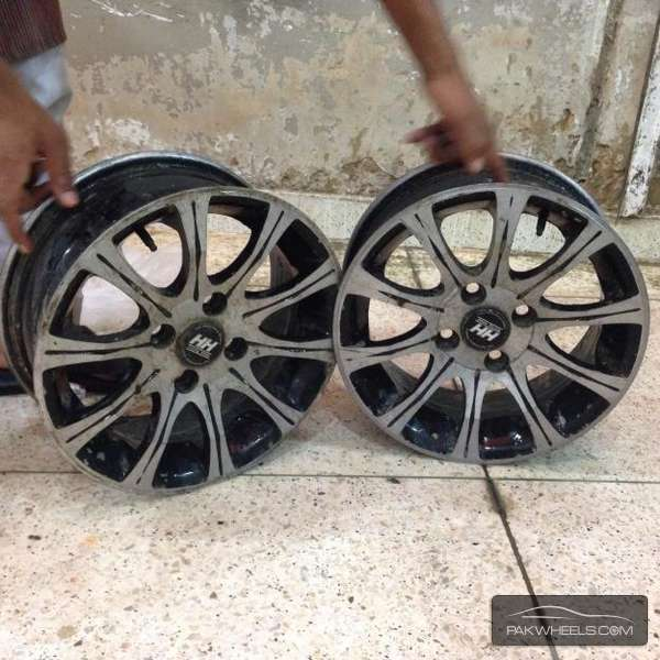 14'inch Size Alloy Rims Image-1