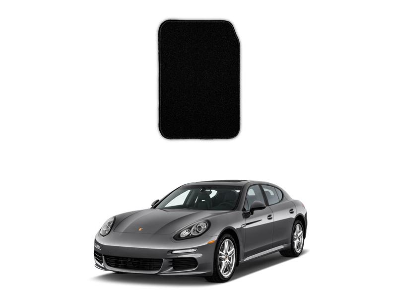 Porsche Panamera Marflex Floor Mats Premium Black in Lahore