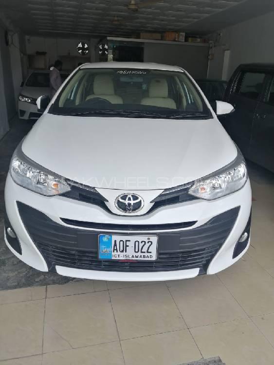 Toyota Yaris ATIV CVT 1.3 2020 Image-1