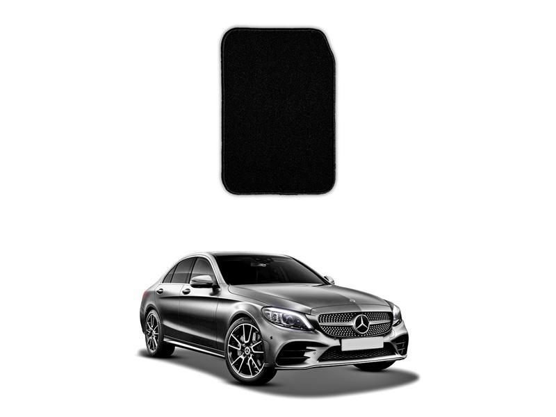 Mercedes C Class 2015-2021 Marflex Floor Mats Premium Black in Lahore