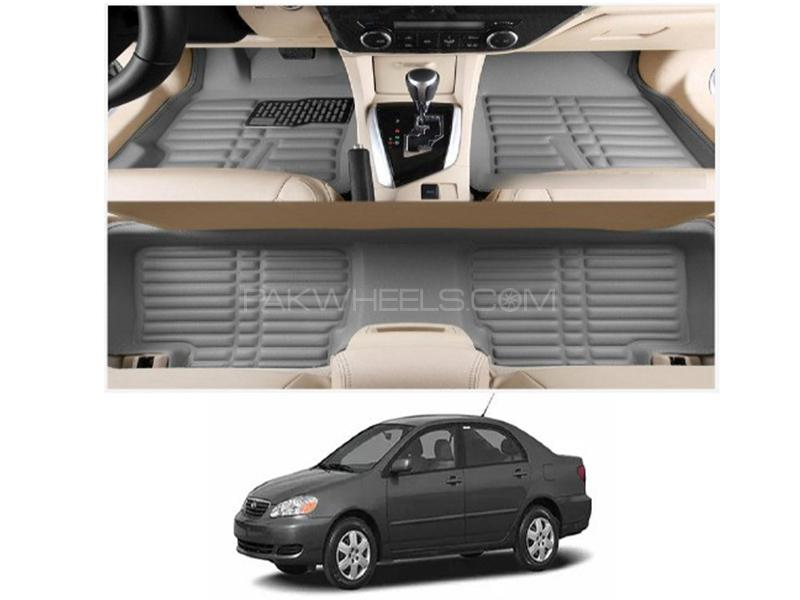Toyota Corolla 2002-2008 5D Floor Mat - Grey Image-1