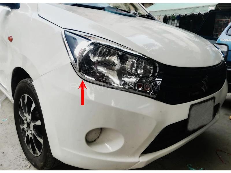 Suzuki Cultus 2017-2021 Front And Back Light Chrome Cover  in Karachi