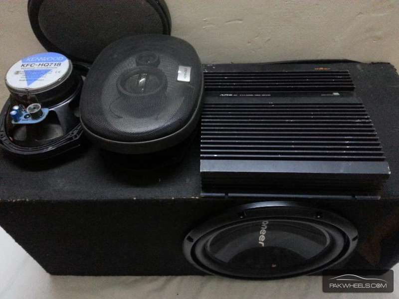 Car Speakers For Sale In Lahore