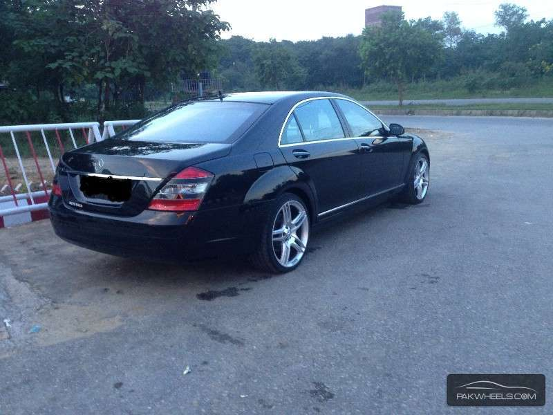 Mercedes benz s class s500l lim 2008 for sale in islamabad for Mercedes benz s550 rims for sale
