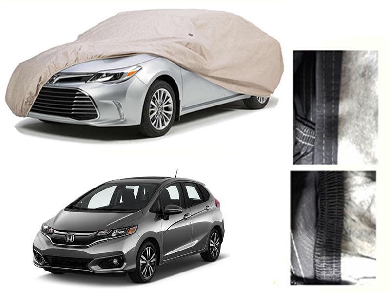 Honda Fit 2007-2021 PVC Cotton Car Top Cover  in Karachi