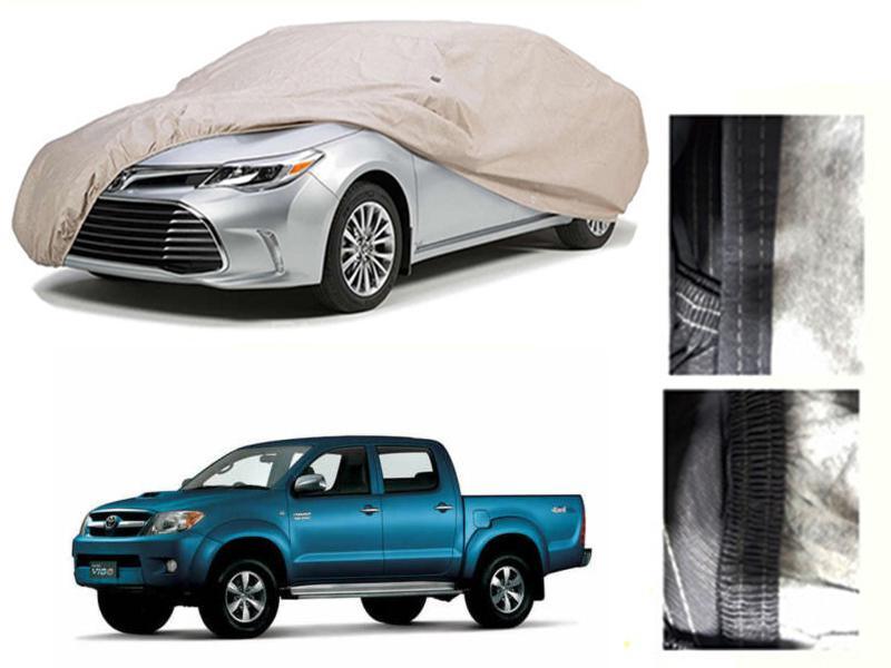 Toyota Vigo 2015-2016 PVC Cotton Car Top Cover  in Karachi