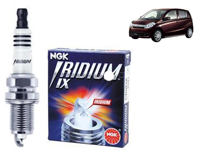 Daihatsu Mira 2006-2017 NGK Iridium Spark Plug 3 Pcs - ILKR6F11 in Karachi
