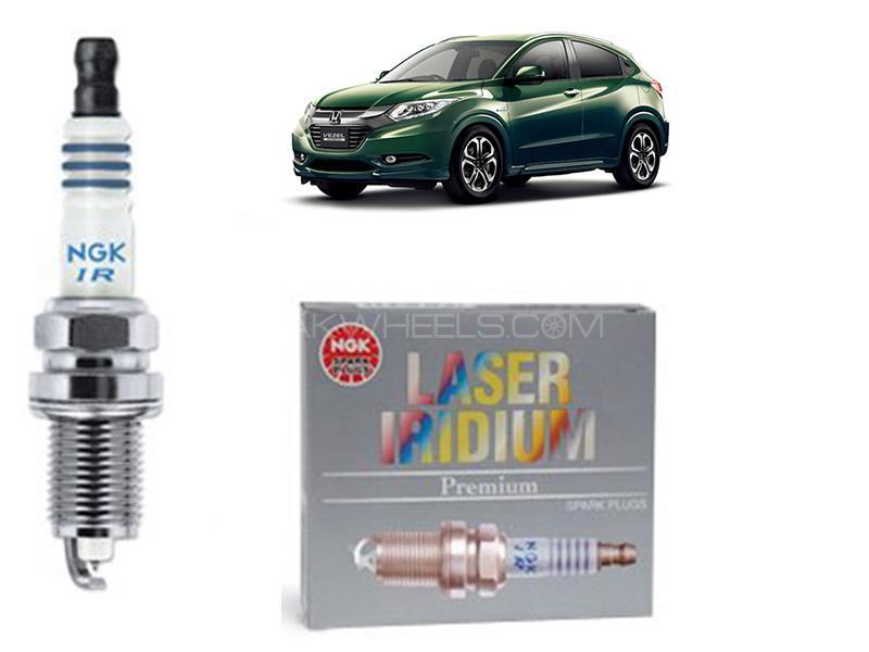 Honda Vezel 2013-2021 NGK Laser Iridium Spark Plug 4 Pcs - DILZKAR7C11S in Karachi