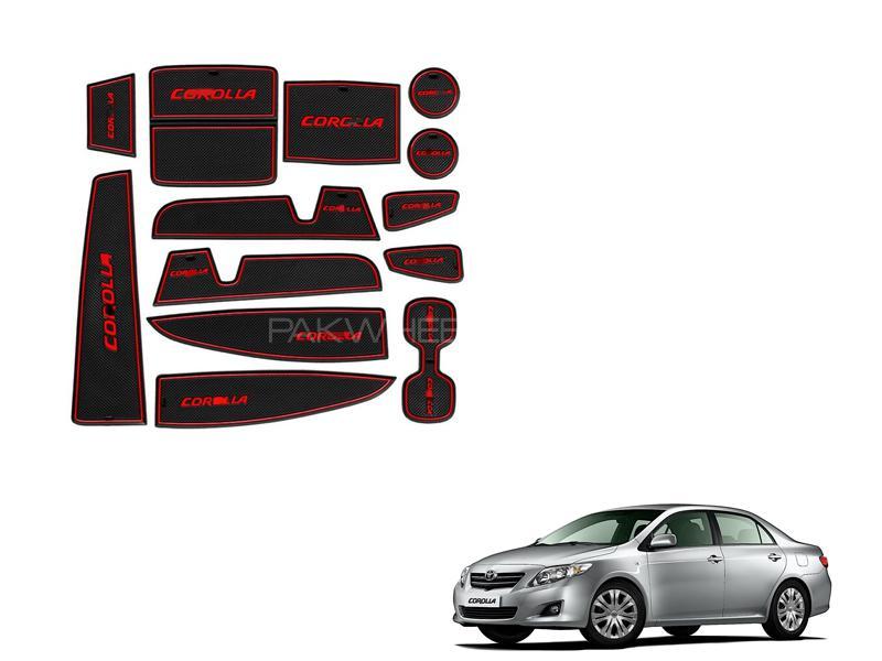 Toyota Corolla 2009-2014 Dashboard Non Slip Mats Pack in Lahore