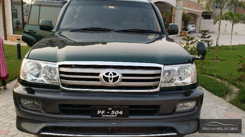 Toyota Land Cruiser Cygnus 2003 For Sale In Lahore Pakwheels