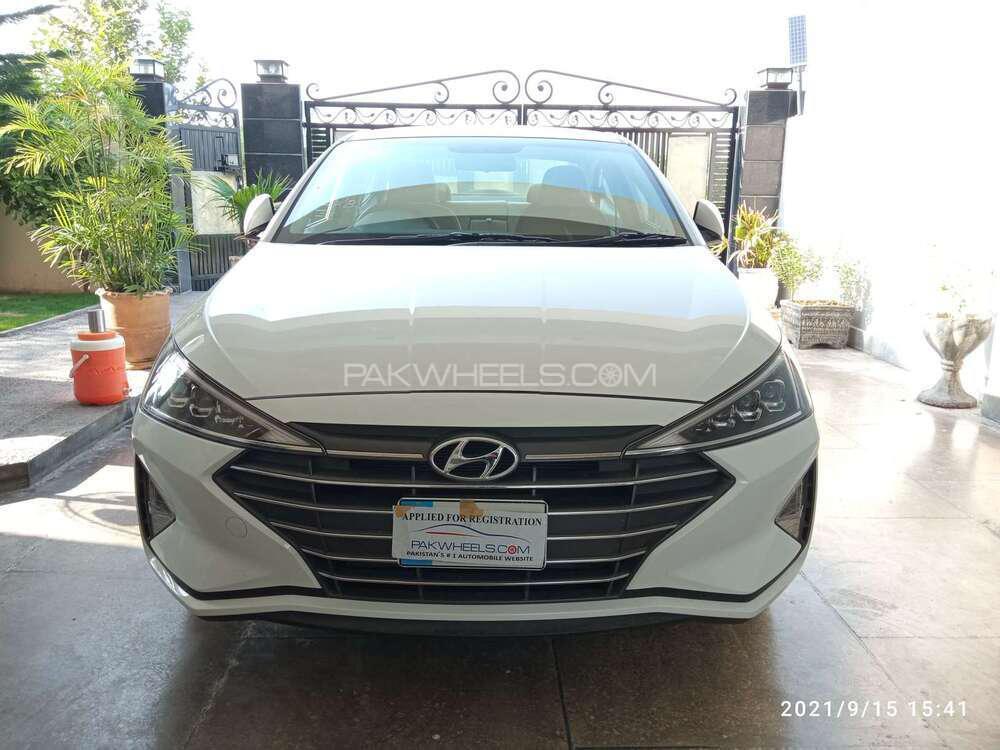 Hyundai Elantra GLS 2021 Image-1