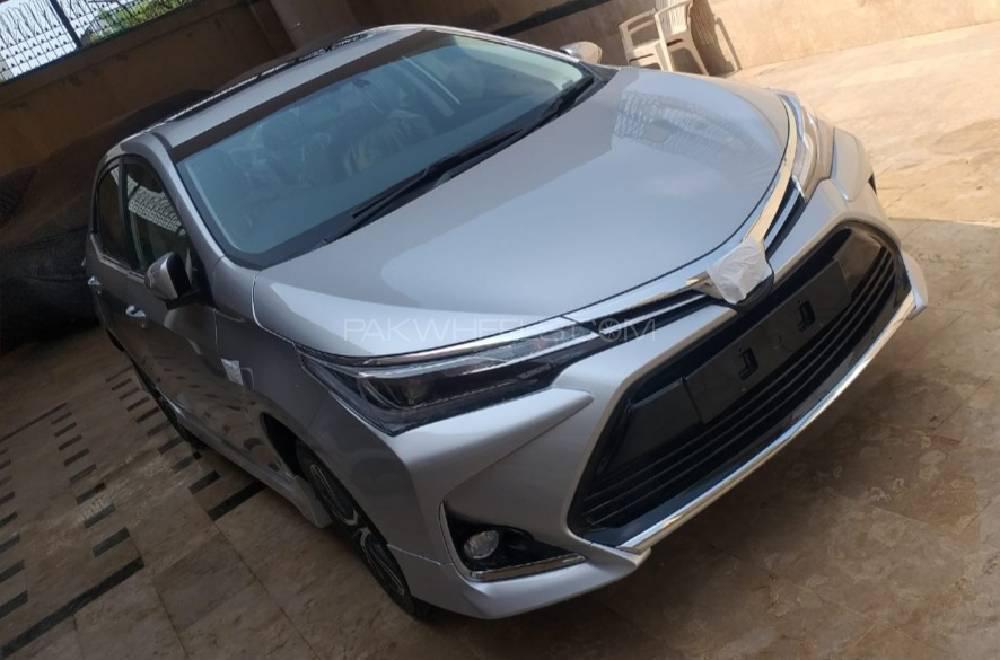 Toyota Corolla Altis Grande X CVT-i 1.8 Black Interior 2021 Image-1
