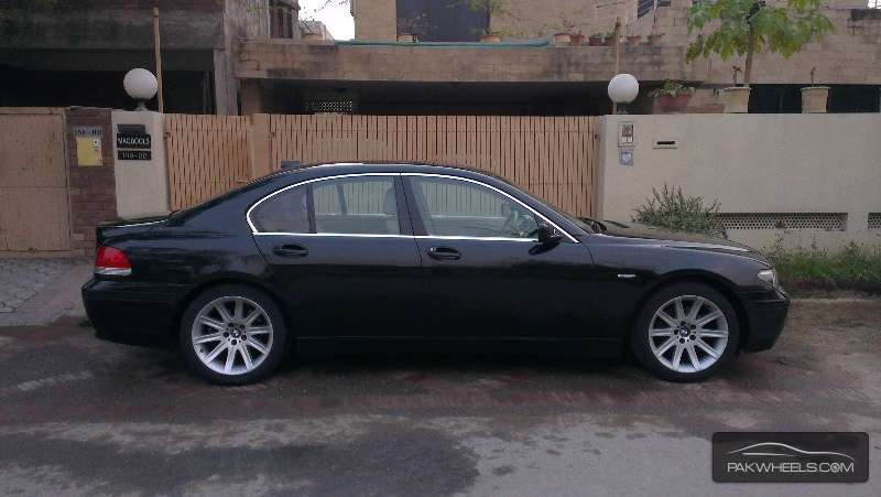 bmw 7 series 730d 2003 for sale in islamabad pakwheels. Black Bedroom Furniture Sets. Home Design Ideas