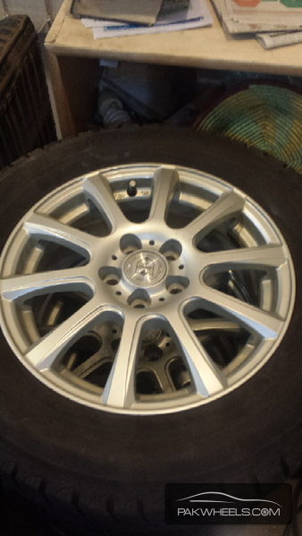 Original Japnese Alloy Rims 15 Image-1