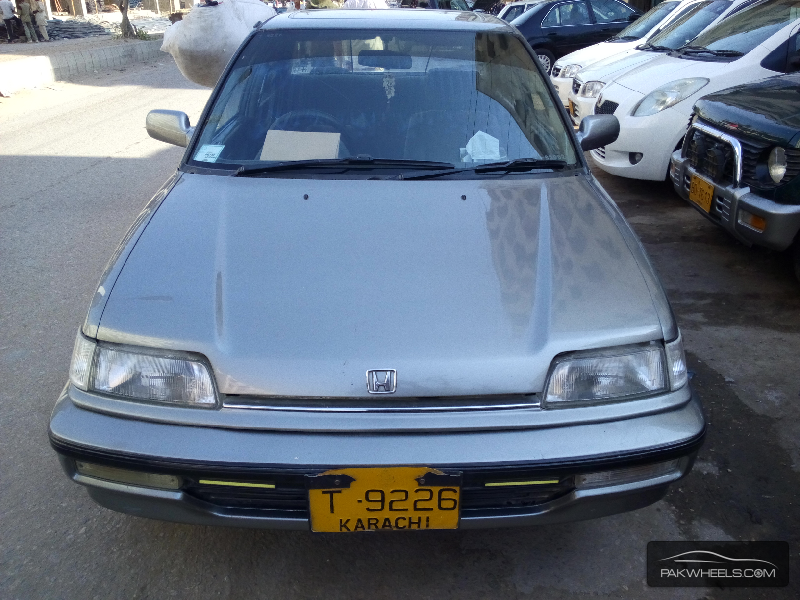 used honda civic ex 1991 car for sale in karachi 1020896 pakwheels. Black Bedroom Furniture Sets. Home Design Ideas