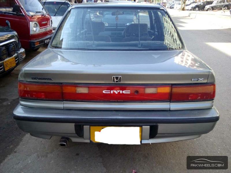 Honda Civic Ex 1991 For Sale In Karachi Pakwheels