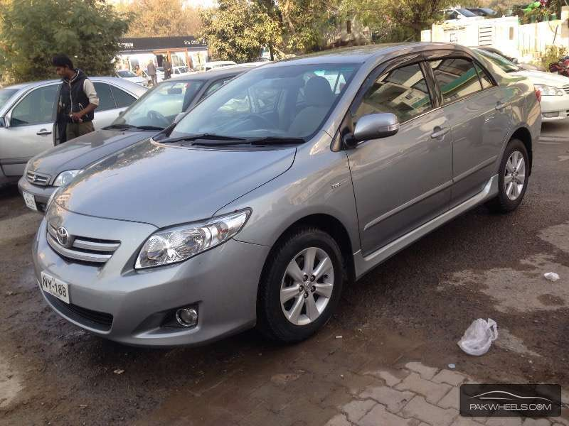 toyota corolla altis cruisetronic 1 8 2009 for sale in islamabad pakwheels. Black Bedroom Furniture Sets. Home Design Ideas